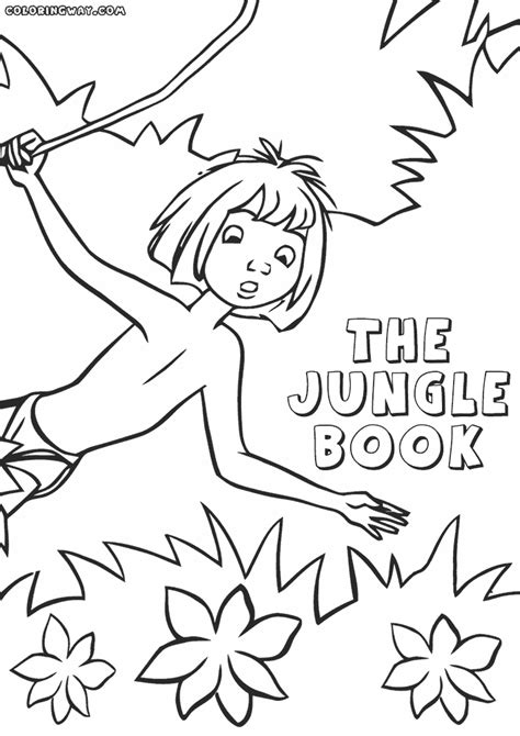 jungle book coloring pages coloring pages