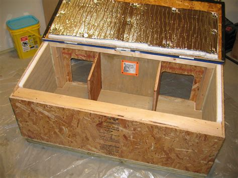 cat house plans insulated  woodworking