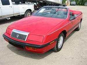 1989 Chrysler Lebaron Convertible