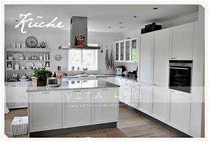Küche Landhausstil Weiß Modern : moderner landhausstil wei k che gestaltungsidee pinterest vintage liebe und modern ~ Indierocktalk.com Haus und Dekorationen