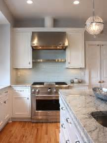 light blue subway tile backsplash kitchens grey walls subway tile backsplash - Light Blue Kitchen Backsplash