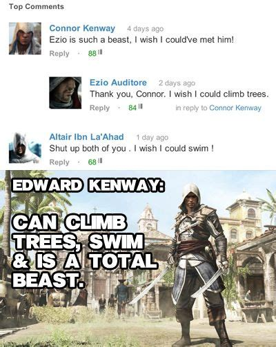 Funny Assassins Creed Memes - 17 best images about assassin s creed on pinterest