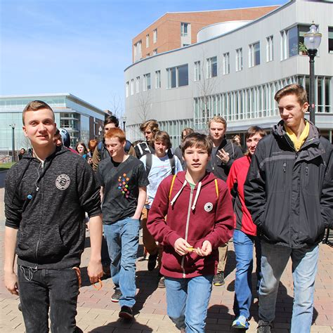 students german visit umass amherst program conval regional high