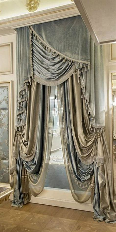 window drapes this is quite something for an window treatment addict