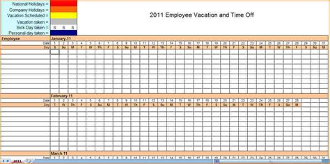 Monthly Staffing Schedule Template by Monthly Employee Schedule Template Excel