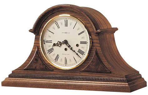 howard miller worthington   keywound mantel clock