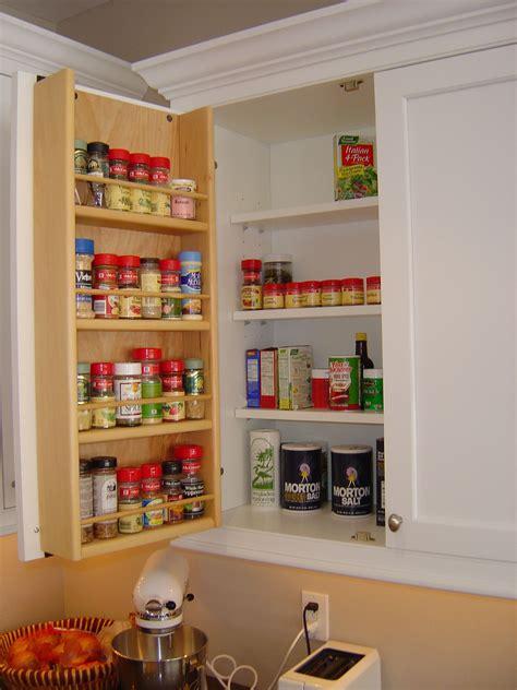 Kitchen Cupboard Door Storage by Tedd Wood Spice Storage On Inside Of Cabinet Door