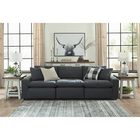 Contemporary Sofa Company by Signature Design By Savesto Casual Contemporary 3