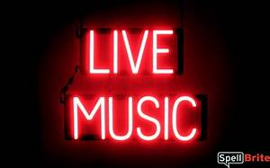 LIVE MUSIC Signs