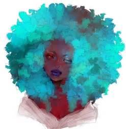 natural hair art | Tumblr