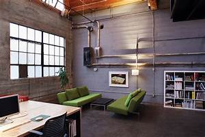 Burnkit studio office snapshots for Industrial modern office