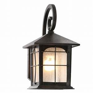 Home Decorators Collection Brimfield 1-Light Aged Iron
