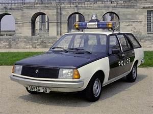 Renault 18 Break Police  Fr