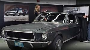 The Steve McQueen's Bullitt Mustang Finally Found after 50 Years