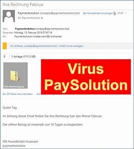 Payment Solution Rechnung : paysolution ihre rechnung anhang mit virus codedocu de blog ~ Themetempest.com Abrechnung