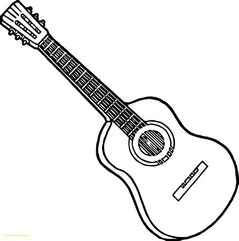 guitar coloring pages coloring pages  children