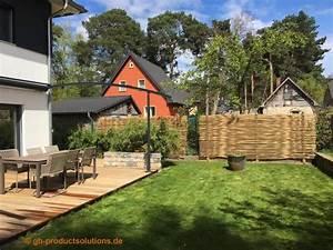 Was Passt Zu Bambus : sichtschutz ideen bambus sichtschutz im garten blickschutz ~ Watch28wear.com Haus und Dekorationen