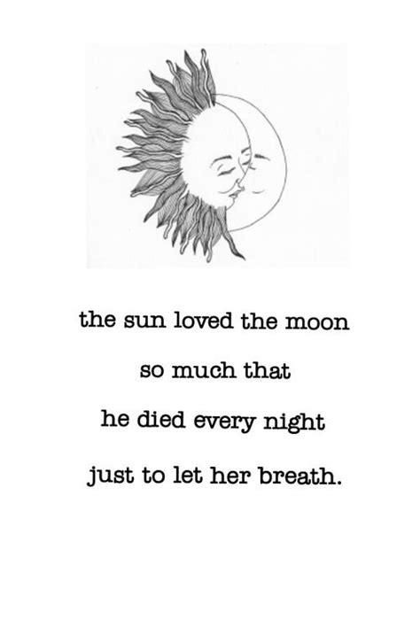 Sun and moon   Quotes   Pinterest   Sun