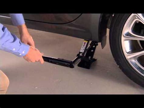 Dodge Dart Jacking Tire Change Youtube
