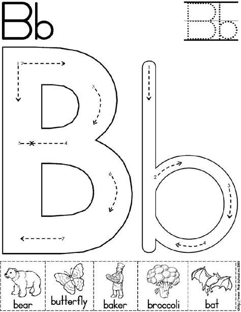 abc worksheet letter b alphabet letter b worksheet