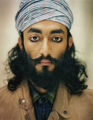 Sikh Indian Men with Beards