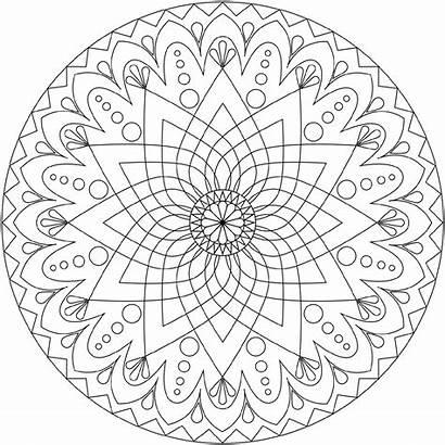 Coloring Mandala Pages Christmas Printable