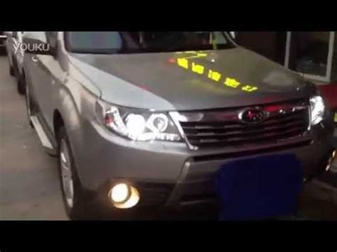 2008 2012 subaru forester xenon headlight with led drl and