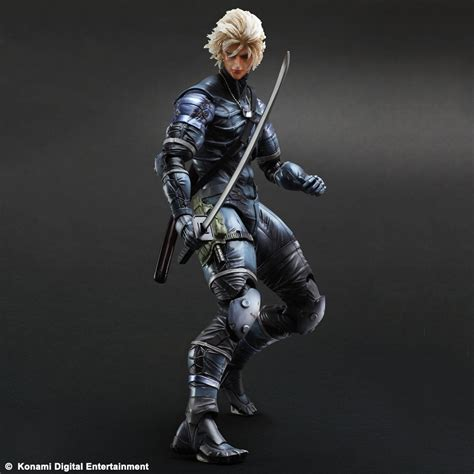 Metal Gear Solid Metal Gear Solid 2 Raiden Playarts