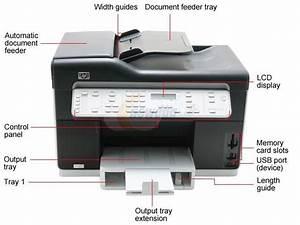 Hp Officejet Pro L7580 C8187a Inkjet Mfc    All