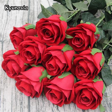 kyunovia cm single rose stem high quality artificial