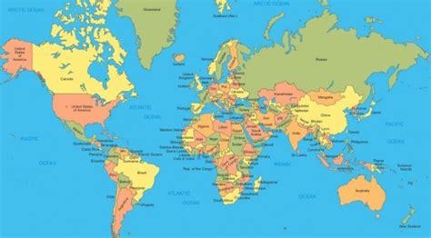 La Carte Du Monde Europe by Carte Du Monde Europe 2016 Voyages Cartes