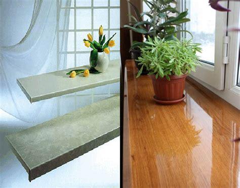 window designs modern interior window sill materials