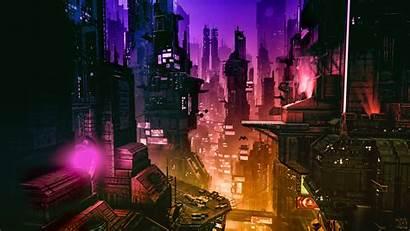 Cyberpunk 4k Futuristic Digital Artwork Concept Fantasy