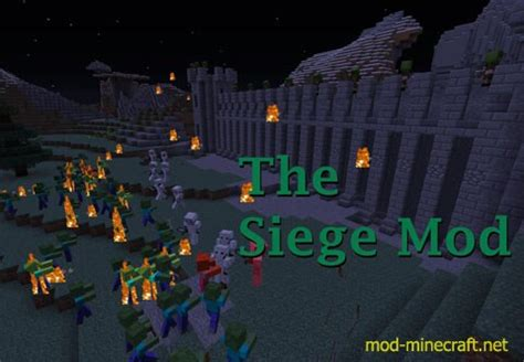 siege minecraft the siege mod 1 7 10 minecraft mods