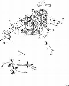 Mercury Marine 40 Hp Carburetor  3 Cylinder   4