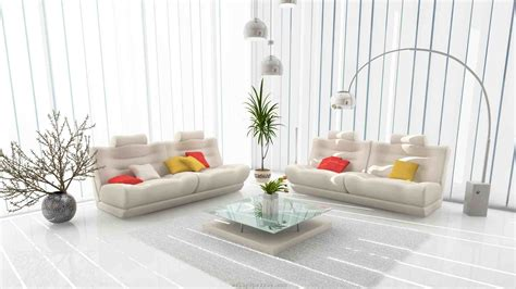 salon canapé blanc déco salon blanc pour un intérieur lumineux et moderne