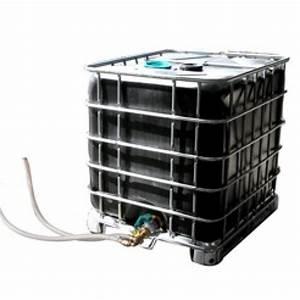 Récupérateur D Eau 1000 Litres : cuve plastique 1000 litres noire ~ Dailycaller-alerts.com Idées de Décoration