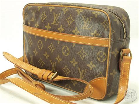 authentic louis vuitton monogram trocadero  mm shoulder