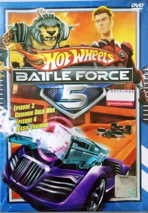 dvd hot wheels battle force 5 vol 3 and 4 anime region all english version english sub
