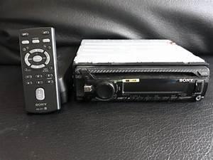 Jual Head Unit Single Din Sony Cdx