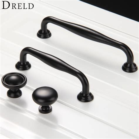 kitchen knobs and pulls 1pc furniture knobs black kitchen door handles cupboard