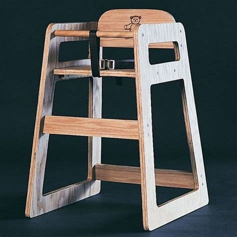 bild woodworking project paper plan  build high chair