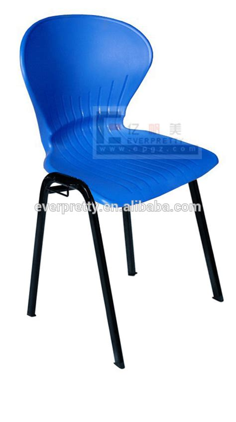 pp plastic visiting chair plastic seat waiting room