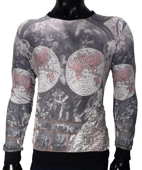 Vīriešu Stilīgs 3D Džemperis (4400679-Globuss) - Phenomen