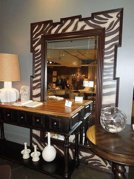 animal print essentials all the creature comforts - Zebra Floor Mirror