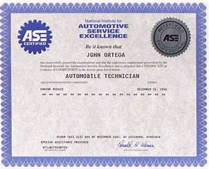 about me With fake ase certificate template