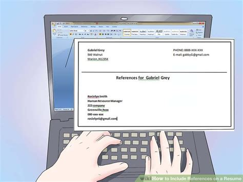 How To Add References To A Resume by The Best Way To References On A Resume With Sles