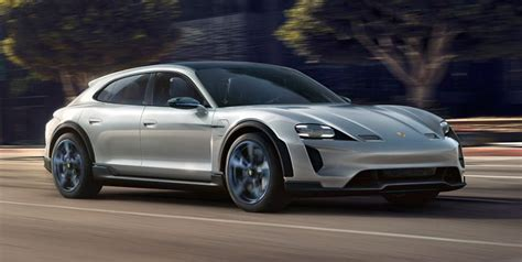 porsche taycan cross turismo  fully electric wagon