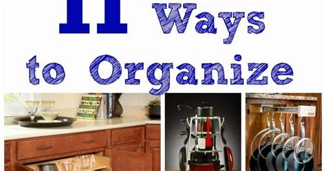 11 Ways To Organize Pots And Pans