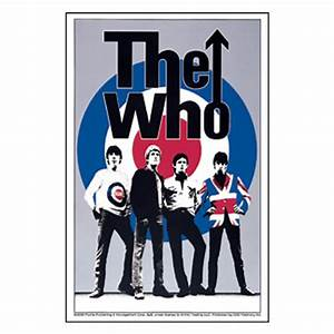 The Who Band Target Logo Sticker